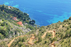 Country side of French Riviera Stock Image
