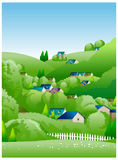 Country Side Illustration Royalty Free Stock Image