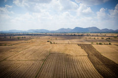 Country side landscape - thailand Royalty Free Stock Photos
