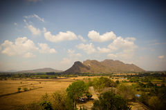 Country side landscape - thailand Royalty Free Stock Image