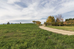 Country side road Royalty Free Stock Photo