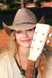 Country Singer Gal Stock Images