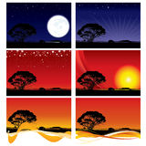 Country Skyline Backgrounds Royalty Free Stock Photos