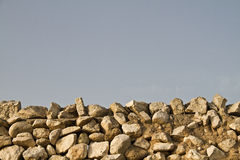 Country stone wall Royalty Free Stock Photos
