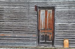 Country Store. Historic storefront complete with urn and copy space Royalty Free Stock Photo