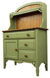 Country Style Cupboard. In Painted Sage Finish Royalty Free Stock Photos