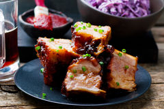 Country Style Ribs Royalty Free Stock Photography