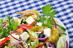 Country style salad Royalty Free Stock Photo