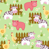 Country style seamless pattern Royalty Free Stock Images