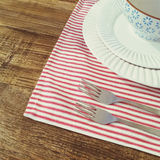 Country style table setting Stock Photography