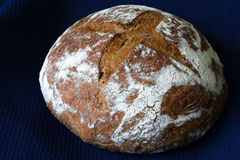Country Style Wheat Rye Wholemeal Bread Royalty Free Stock Photography