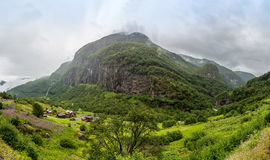 Country summer landscape, Norway Royalty Free Stock Photos