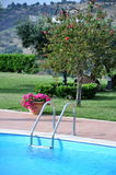 Country swimming Stock Photo