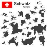 Country Switzerland Royalty Free Stock Photos