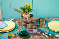 Country table Stock Photo