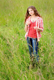 Country Teen Daydreaming Stock Photo