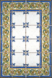 Country tiles blue Royalty Free Stock Photo