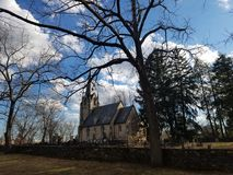 Church. Country view, charm calmness Stock Photography