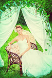 Country wedding Stock Photography