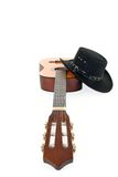 Country & Western guitar hat Stock Image
