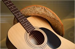 Country and Western Music Stock Images