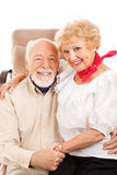 Country Western Seniors Royalty Free Stock Photos