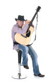 Country & Western singer Royalty Free Stock Images