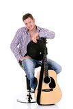 Country & Western singer Stock Photos