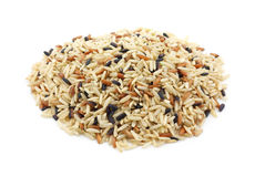 Country wild rice blend Royalty Free Stock Image