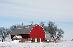 Country Winter Great Plains Stock Photos