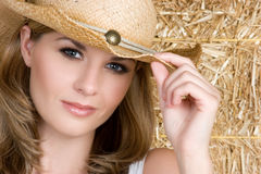 Country Woman Stock Photo