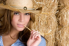 Country Woman Royalty Free Stock Photo