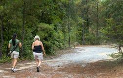 Country Women Walking Royalty Free Stock Photo