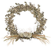 Country Wreath Royalty Free Stock Photography