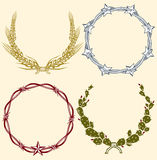 Country Wreaths Stock Image