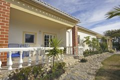 Countryhouse in Portugal. Countryhouse in the Algarve in Portugal Stock Images