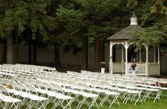 Countryklub-Hochzeit Stockfoto