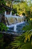 Countryklub-Wasserfall Stockbild