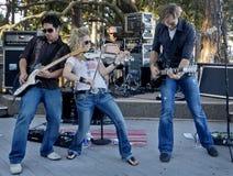 Countrymusik-Ausführender und Band Nancy-Stovall Stockbilder