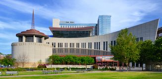 Countrymusik Hall av berömmelse royaltyfria bilder