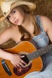Countrymusik-Mädchen lizenzfreie stockfotos