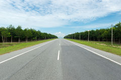 Countryroad Stock Image