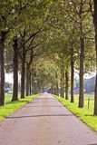 Countryroad in the Netherlands Stock Photo