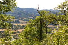 Countryscape Hesse Allemagne Images stock