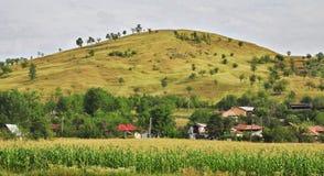 Countryside. Village in Prahova County,Romania Stock Photos