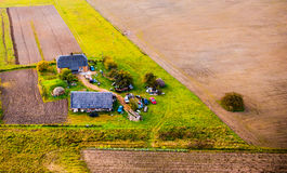 Countryside from above Royalty Free Stock Image