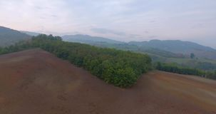Countryside Aerial View stock footage
