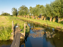 Countryside of Amsterdam in Durgerdam, Netherlands Royalty Free Stock Images