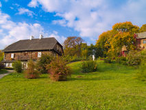 Countryside at autumn, Poland Stock Image
