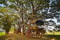 Countryside.Bagan стоковые фотографии rf